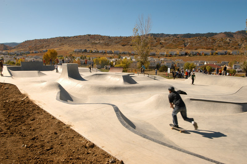 Roxborough Skatepark Street Course