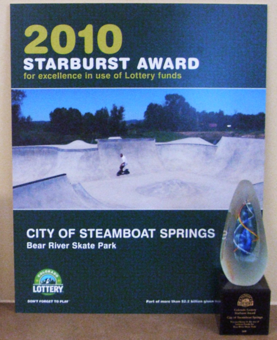 Colorado Lottery Starburst Award for Excellence