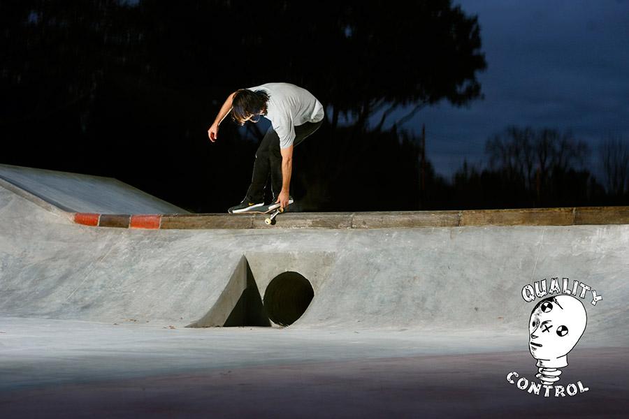 Chris Blake Feeble on the curb