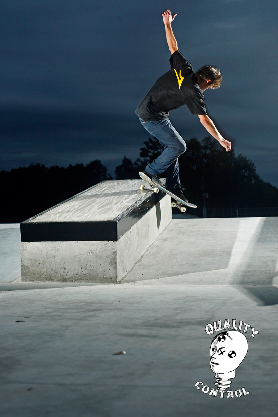Chad Poore Smith up the ledge