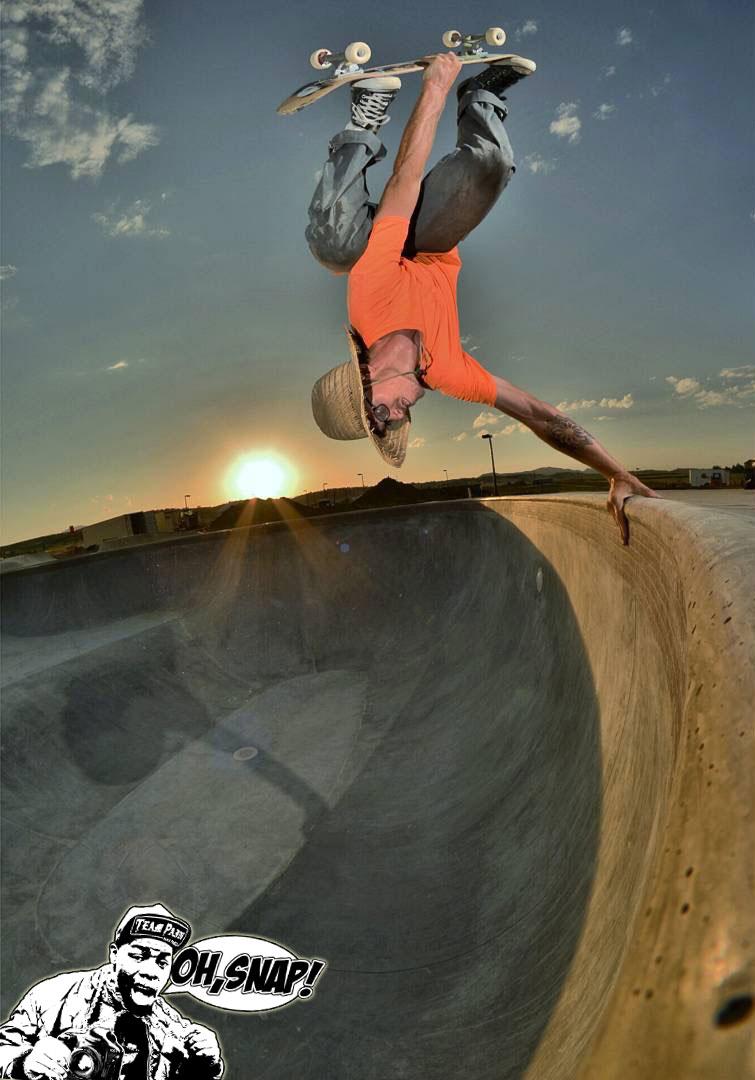 OH SNAP!, Team Pain, Skate Parks, Skateboarding