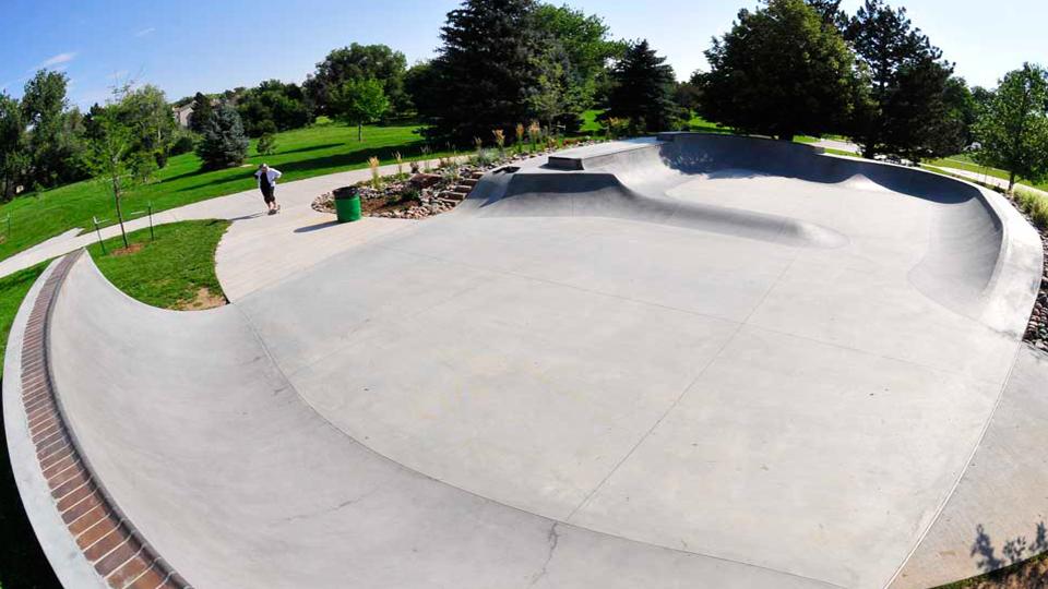 Memorial skate spot