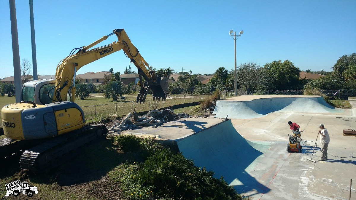 Satellite Beach Skate Park Renovations