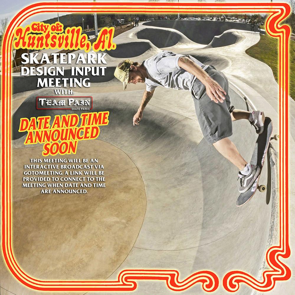 Design Workshop: Famous Get-A-Way skatepark in Huntsville AL